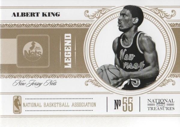 2010-11 Playoff National Treasures #157 Albert King