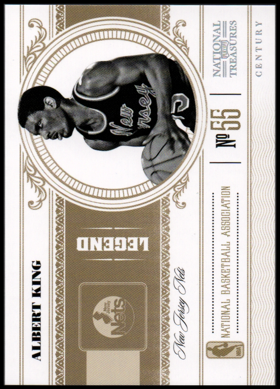 2010-11 Playoff National Treasures Century Silver #157 Albert King