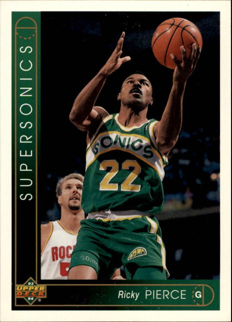 1993 94 Upper Deck International German 8 Ricky Pierce NM MT