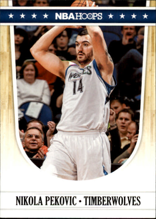 2011-12 Hoops #139 Nikola Pekovic
