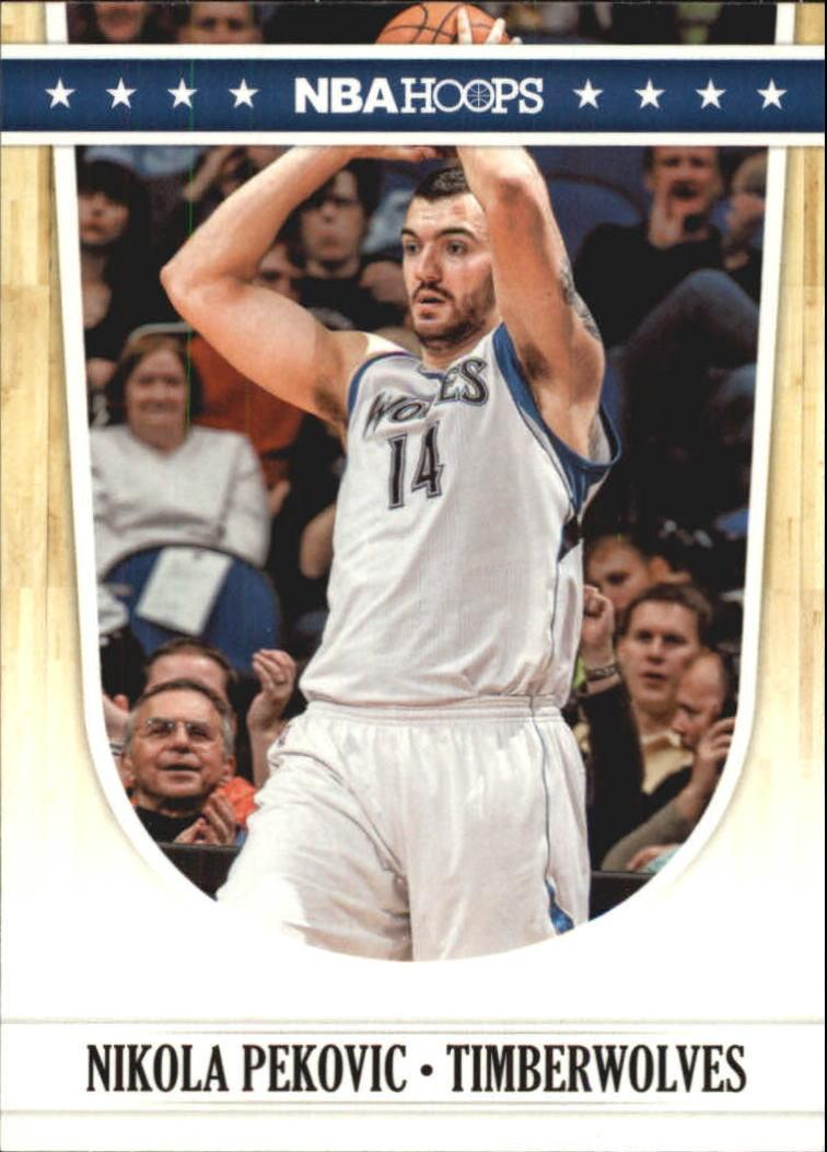 2011-12 Hoops Glossy #139 Nikola Pekovic