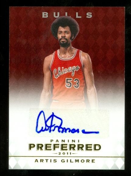 2011-12 Panini Preferred #10 Artis Gilmore PS/25 AU