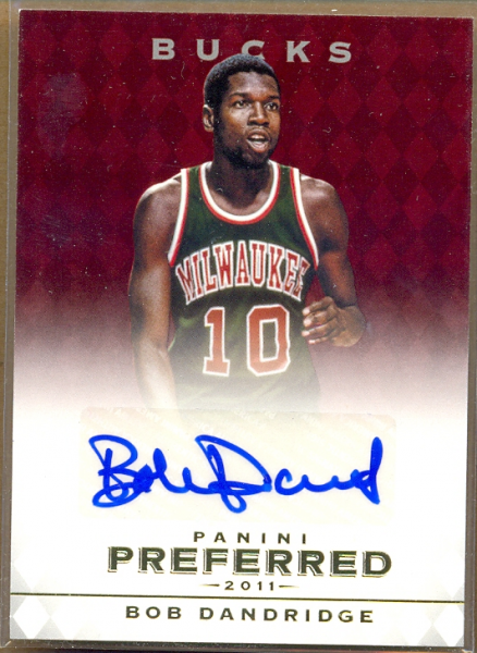 2011-12 Panini Preferred #18 Bob Dandridge PS/74 AU