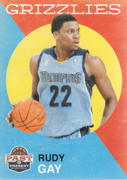 2011-12 Panini Past and Present #123 Rudy Gay