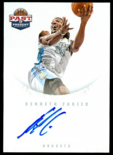 2011-12 Panini Past and Present 2011 Draft Pick Redemptions Autographs #XRCS Kenneth Faried