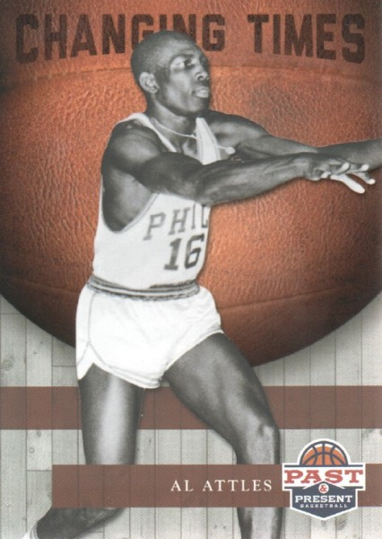 2011-12 Panini Past and Present Changing Times #4 Al Attles