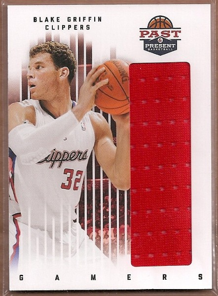 2011-12 Panini Past and Present Gamers Jerseys #13 Blake Griffin