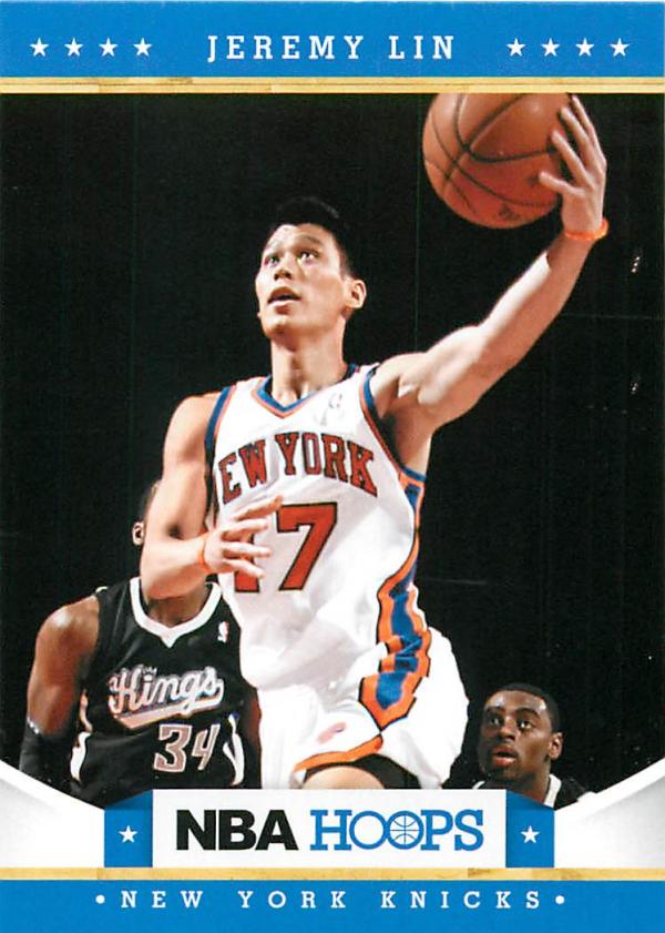 2012-13 Hoops #19 Jeremy Lin