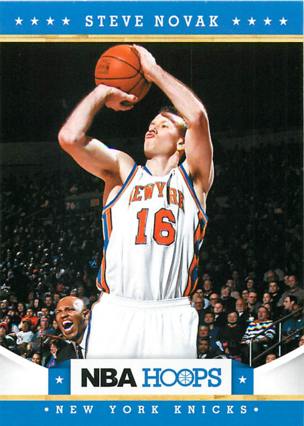 2012-13 Hoops #20 Steve Novak