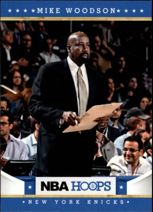 2012-13 Hoops #21 Mike Woodson CO