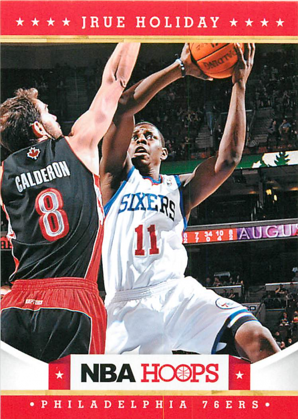 2012-13 Hoops #24 Jrue Holiday
