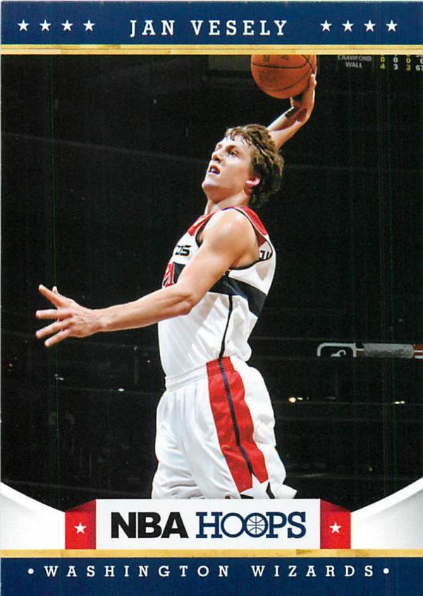 2012-13 Hoops #227 Jan Vesely RC