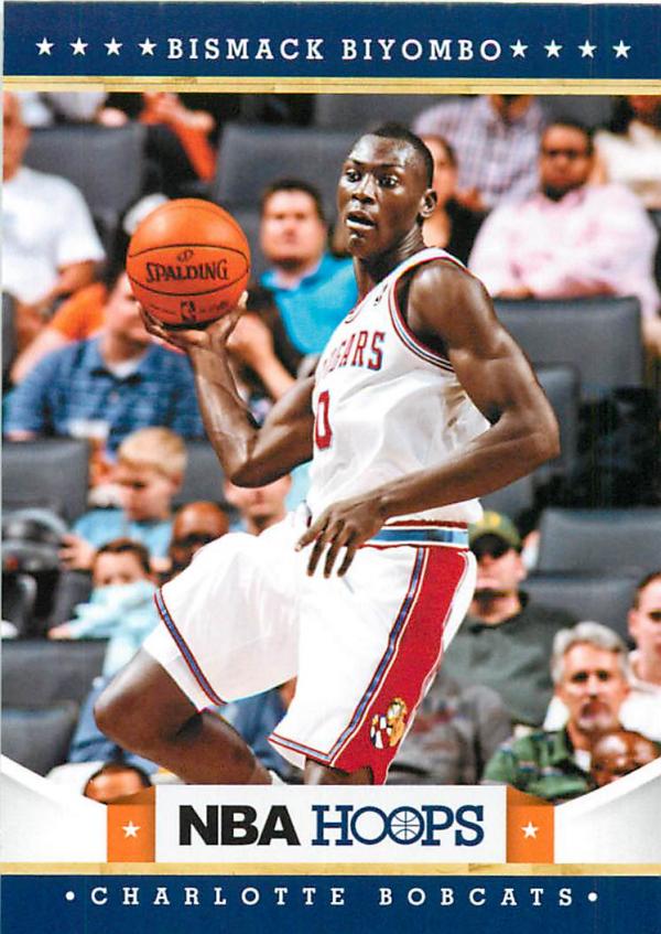 2012-13 Hoops #228 Bismack Biyombo RC