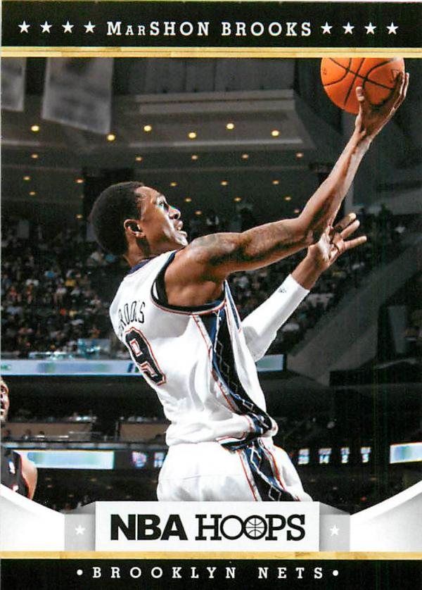 2012-13 Hoops #244 MarShon Brooks RC