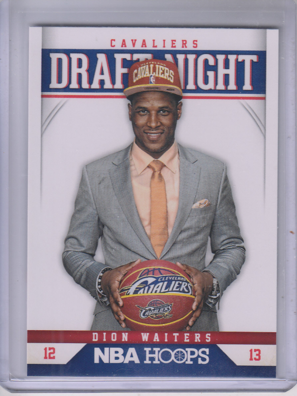 2012-13 Hoops Draft Night #4 Dion Waiters