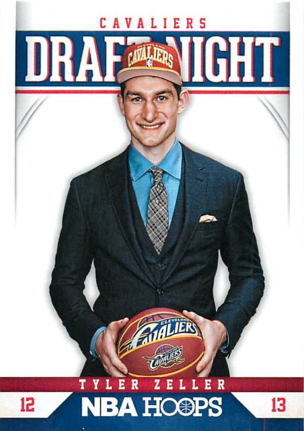 2012-13 Hoops Draft Night #15 Tyler Zeller