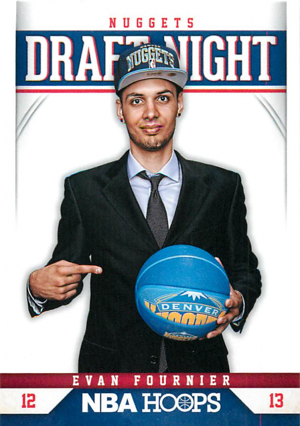 2012-13 Hoops Draft Night #16 Evan Fournier