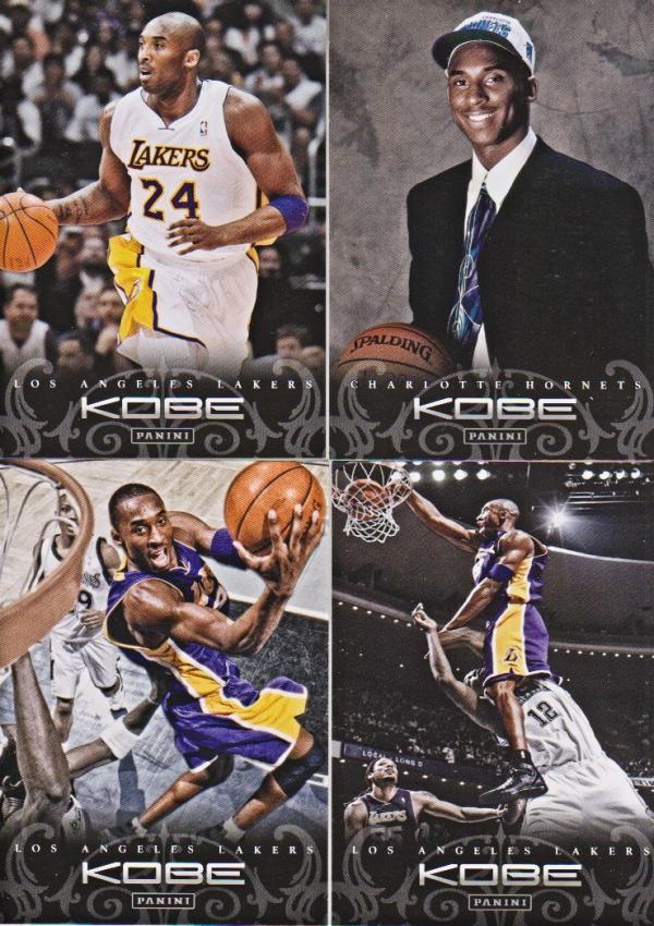 2012-13 Panini Kobe Anthology #6 Kobe Bryant