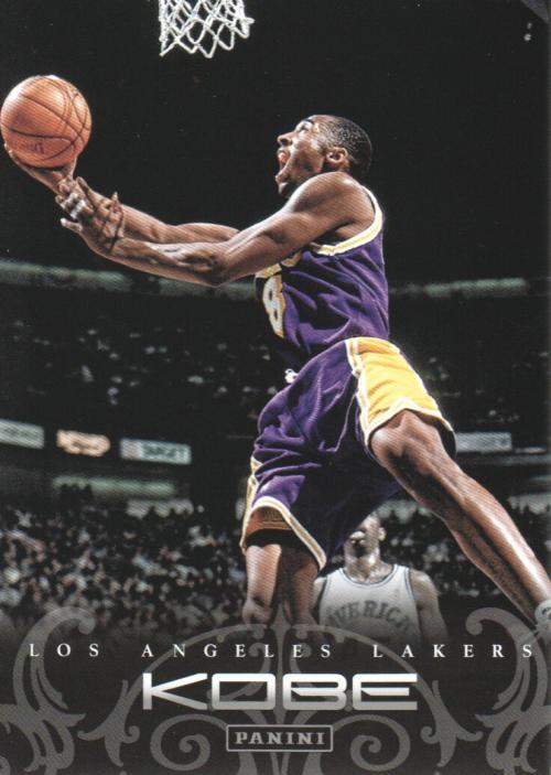 2012-13 Panini Kobe Anthology #7 Kobe Bryant
