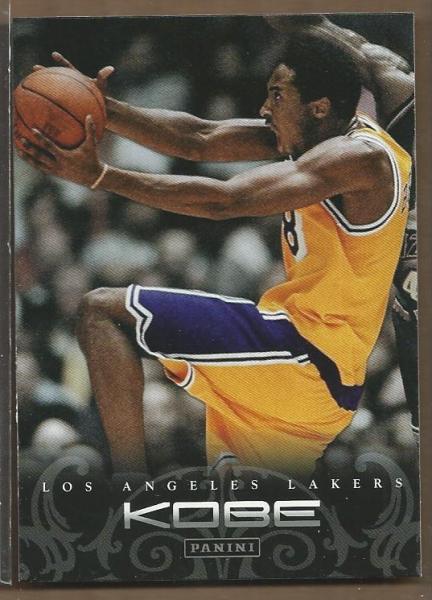2012-13 Panini Kobe Anthology #12 Kobe Bryant