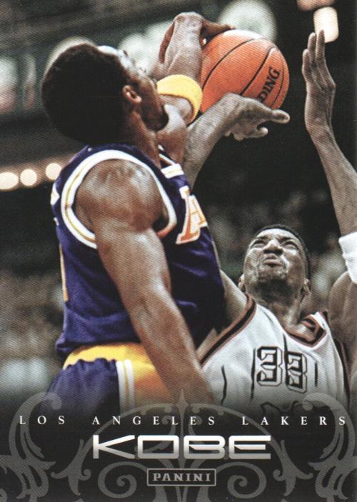 2012-13 Panini Kobe Anthology #54 Kobe Bryant