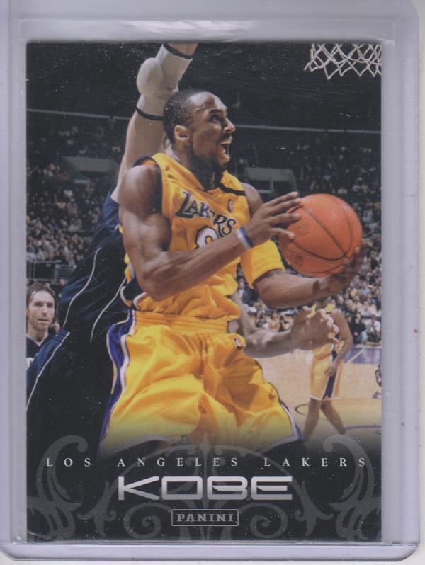 2012-13 Panini Kobe Anthology #66 Kobe Bryant