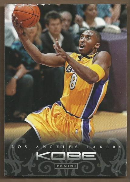 2012-13 Panini Kobe Anthology #78 Kobe Bryant