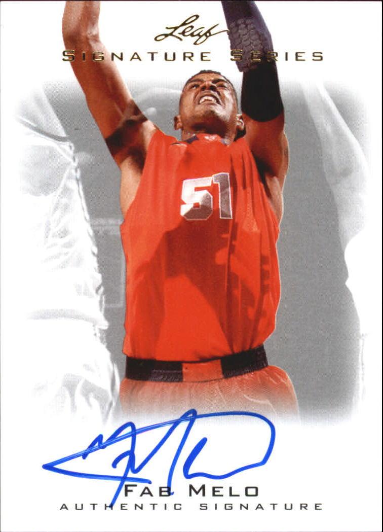 2012-13 Leaf Signature #FM1 Fab Melo