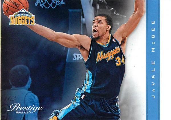 2012-13 Prestige #4 JaVale McGee
