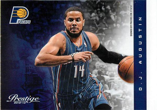 2012-13 Prestige #8 D.J. Augustin