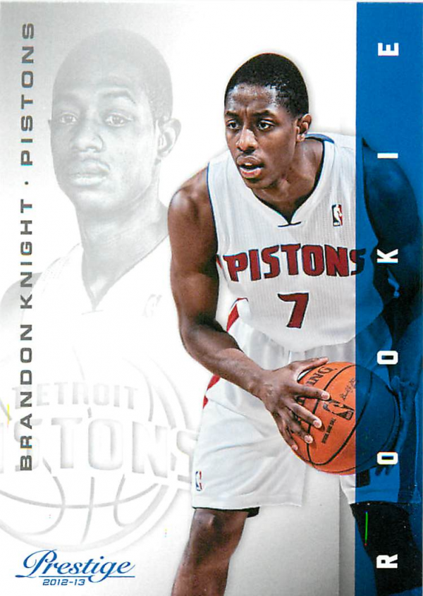 2012-13 Prestige #153 Brandon Knight RC
