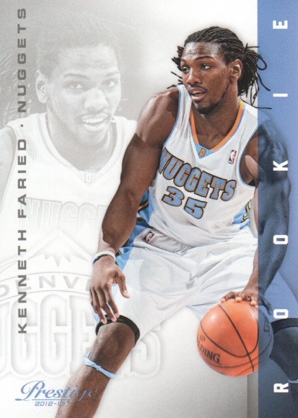 2012-13 Prestige #158 Kenneth Faried RC