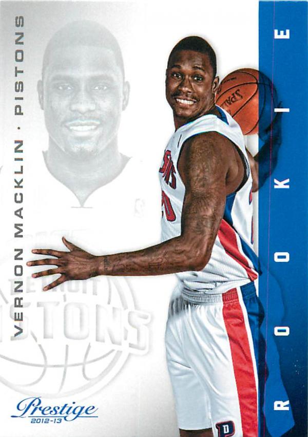 2012-13 Prestige #164 Vernon Macklin RC