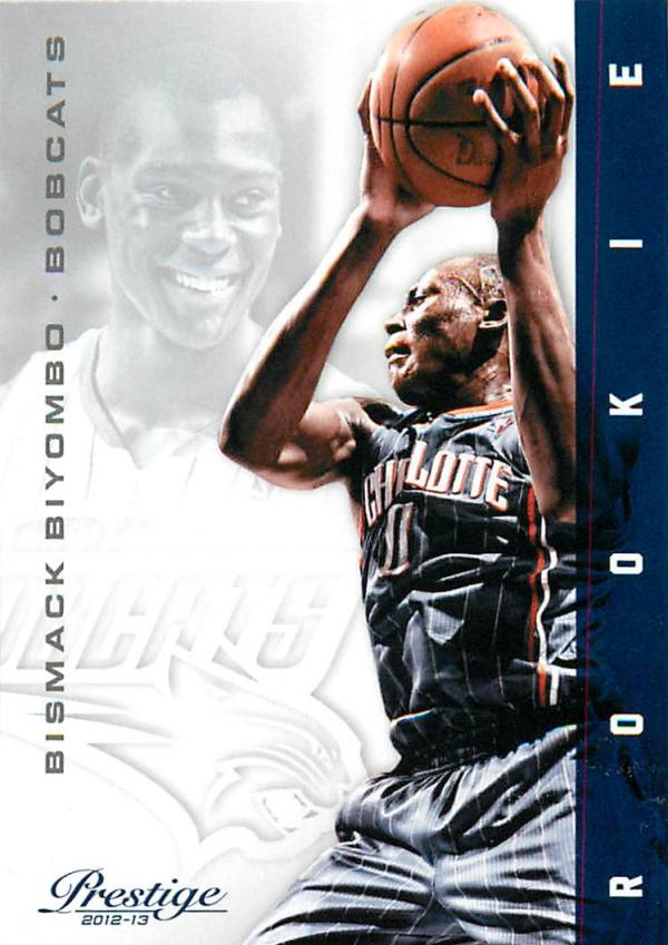 2012-13 Prestige #174 Bismack Biyombo RC