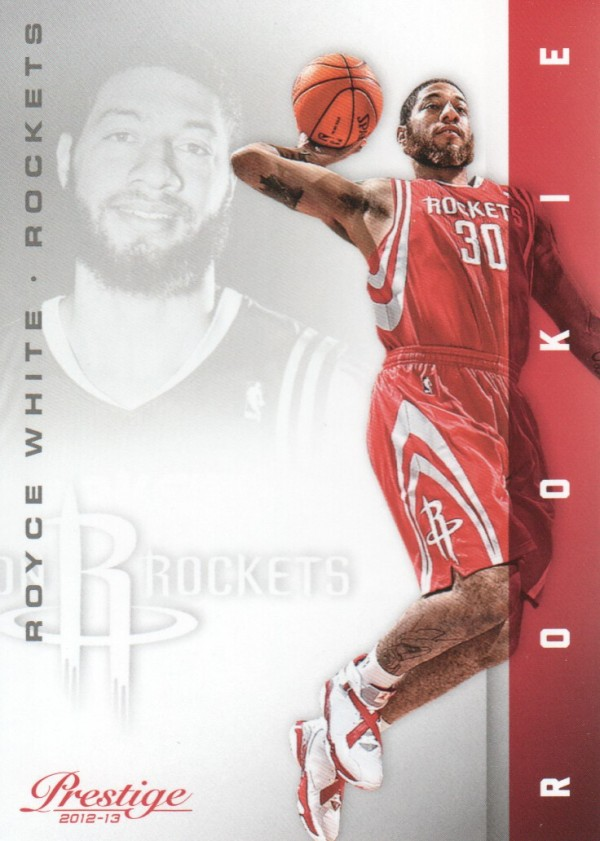 2012-13 Prestige #217 Royce White RC