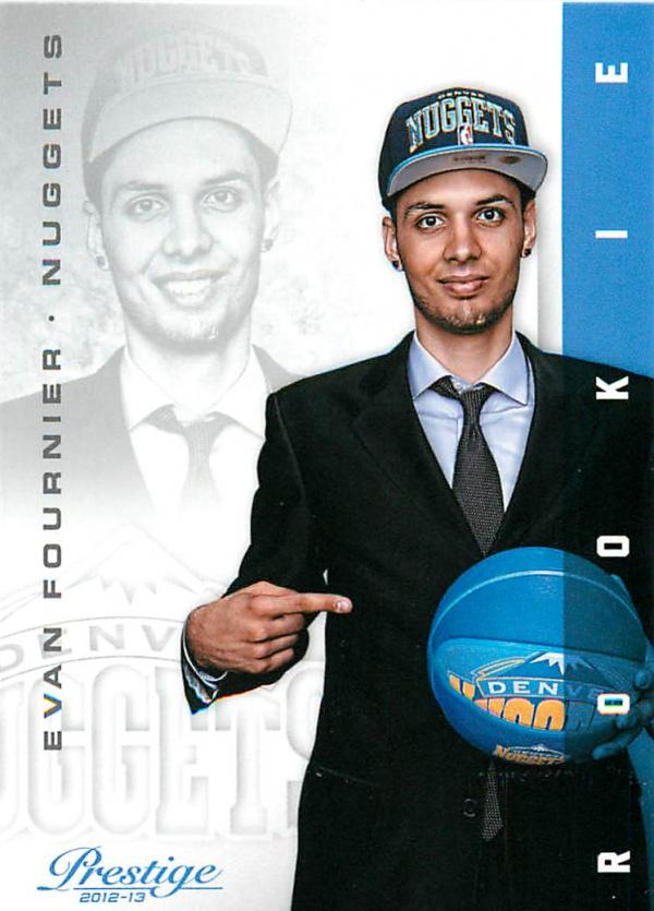 2012-13 Prestige #220 Evan Fournier RC