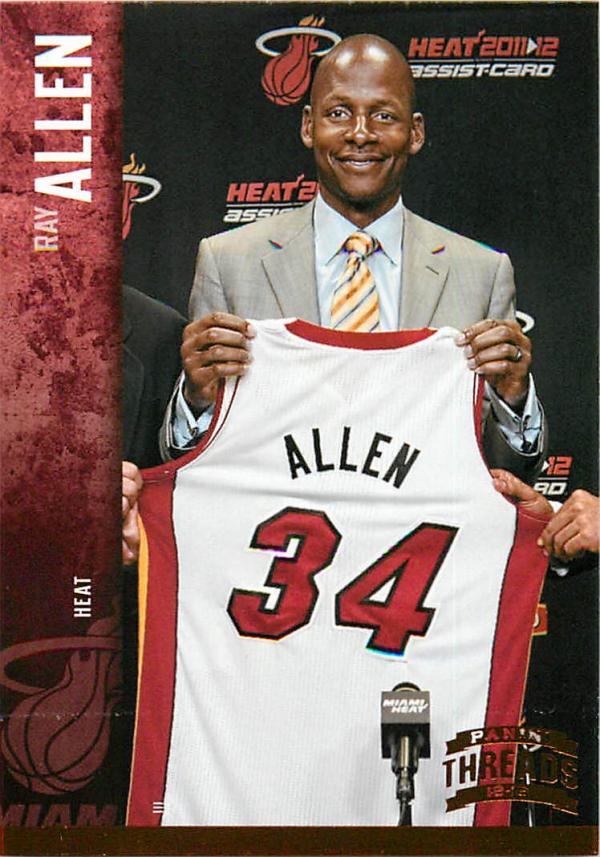 2012-13 Panini Threads #7 Ray Allen