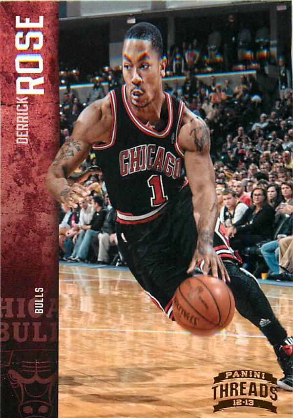 2012-13 Panini Threads #15 Derrick Rose