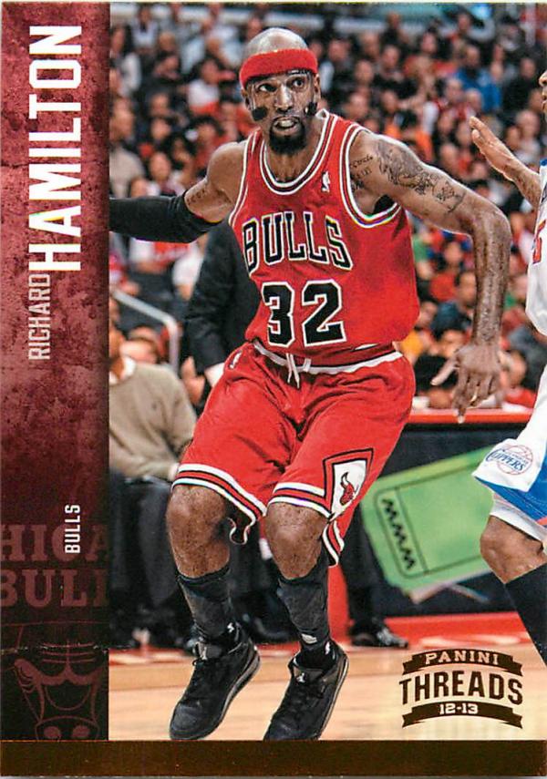 2012-13 Panini Threads #19 Richard Hamilton