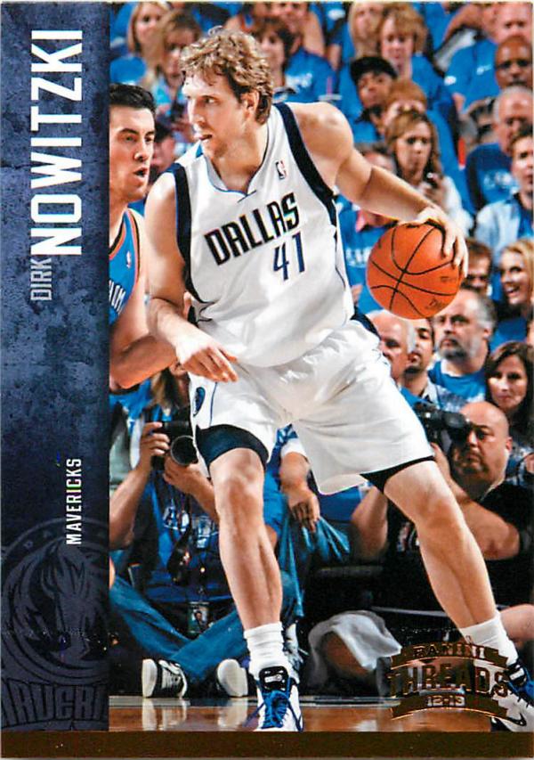 2012-13 Panini Threads #24 Dirk Nowitzki