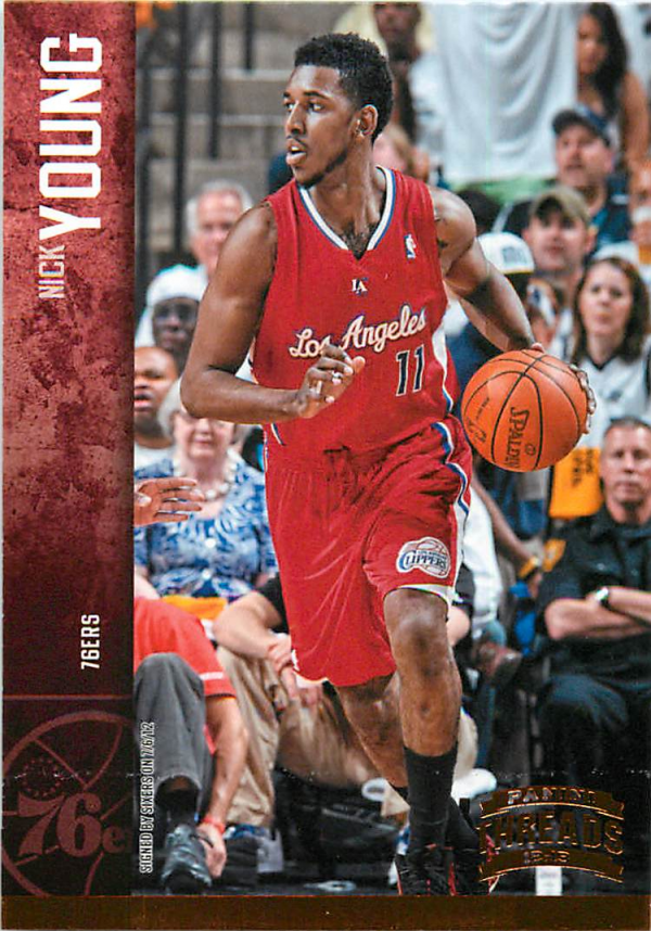 2012-13 Panini Threads #60 Nick Young