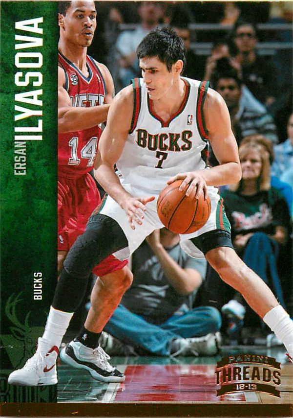 2012-13 Panini Threads #84 Ersan Ilyasova
