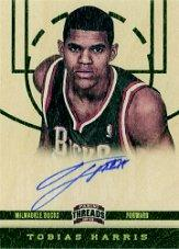 2012-13 Panini Threads #167 Tobias Harris AU RC