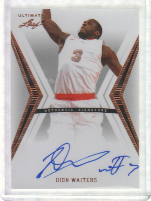 2012-13 Leaf Ultimate #DW2 Dion Waiters