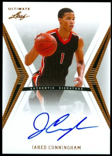 2012-13 Leaf Ultimate #JC2 Jared Cunningham