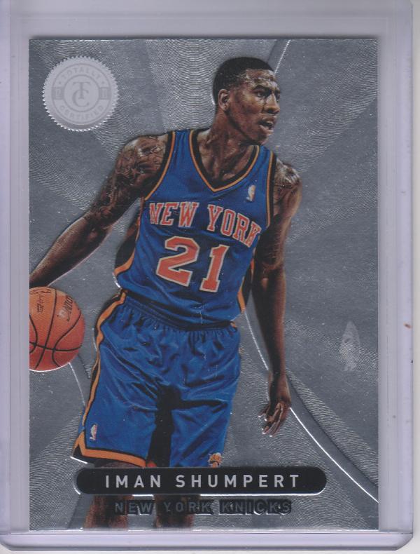2012-13 Totally Certified #18 Iman Shumpert RC