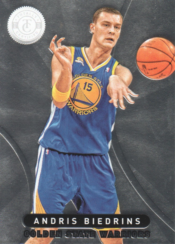 2012-13 Totally Certified #21 Andris Biedrins