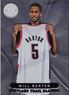 2012-13 Totally Certified #24 Will Barton RC