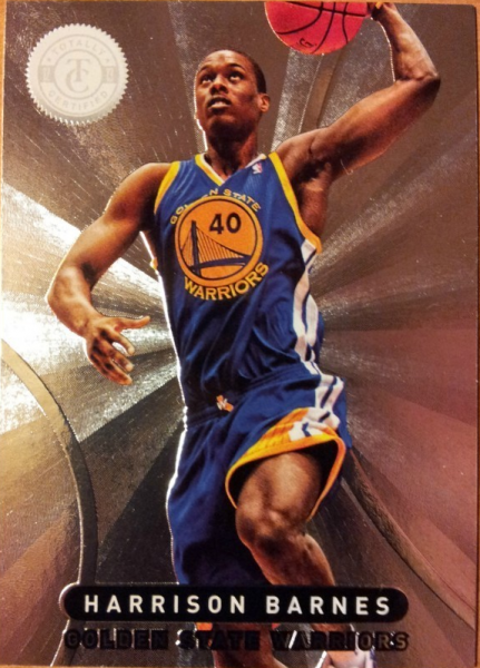 2012-13 Totally Certified #77 Harrison Barnes RC