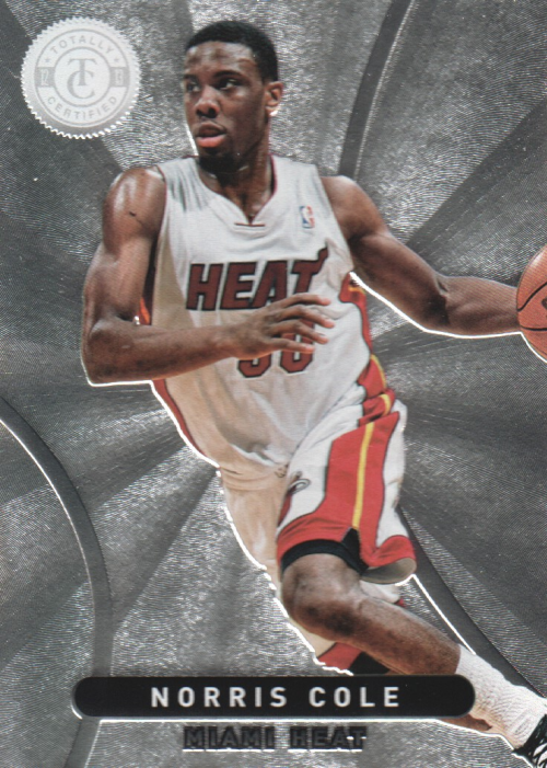 2012-13 Totally Certified #126 Norris Cole RC